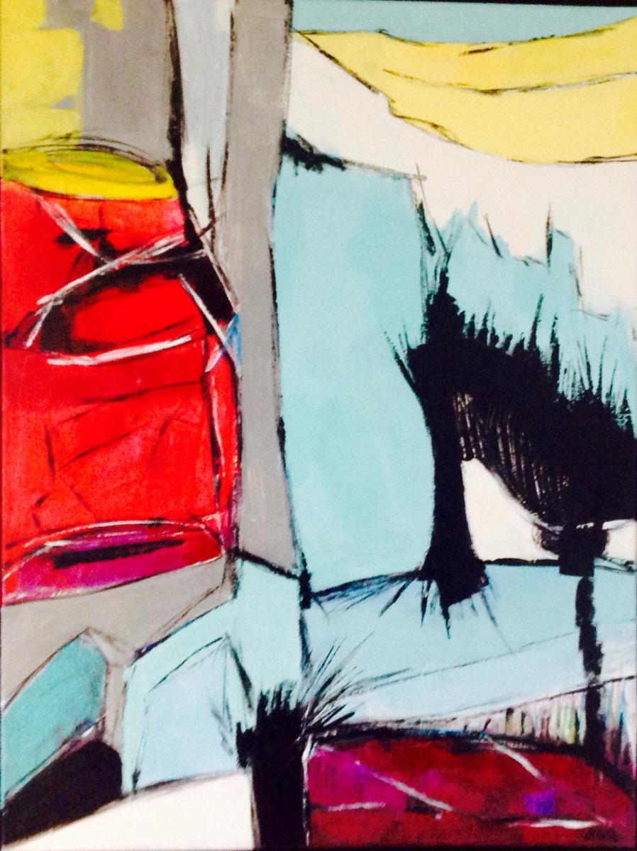 Abstrakt 80 x 60 cm