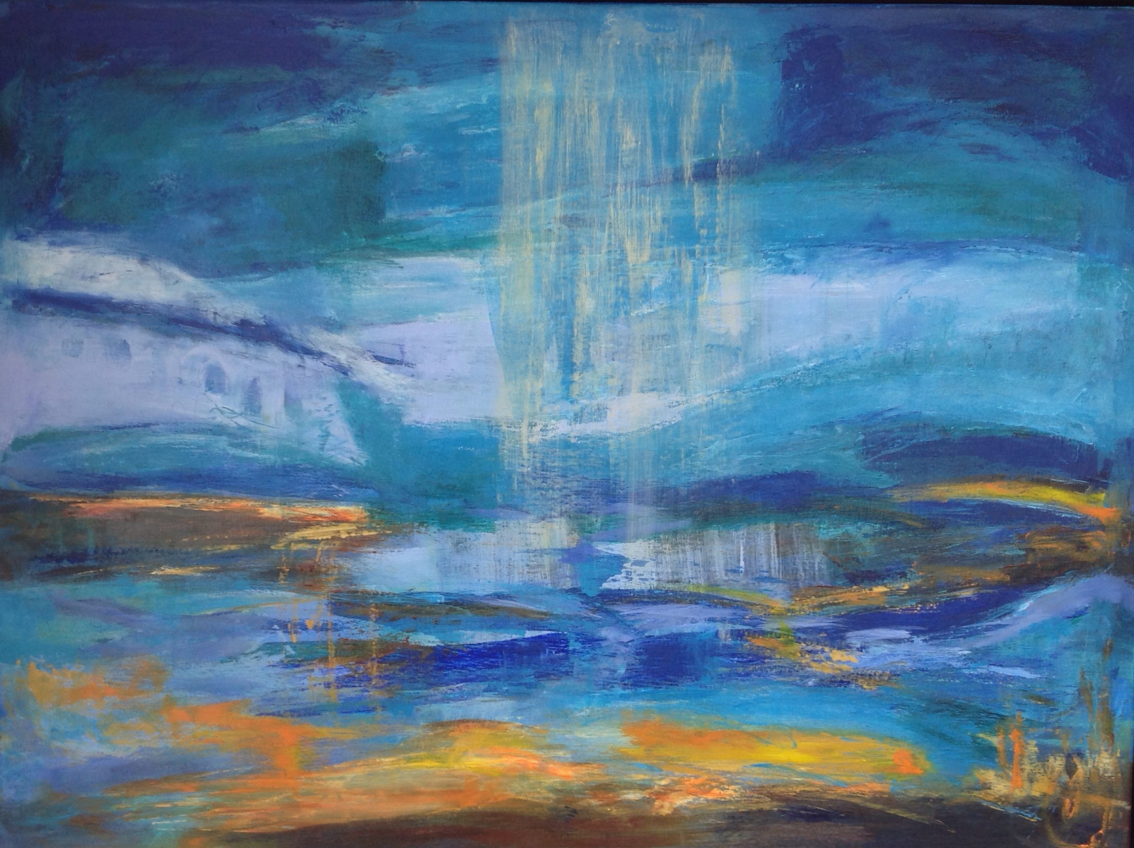 Det uendelige landskab 80 x 60 cm solgt