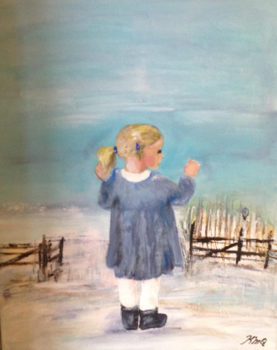 Ester i  Hestefoldens solgt fra udstilling i Mørke