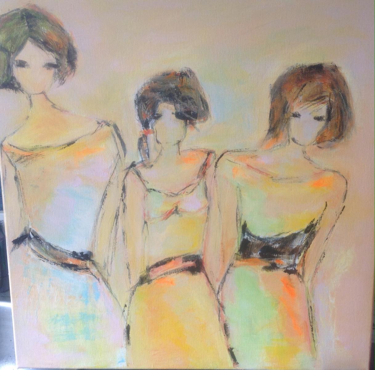 """2 Mine tre piger """" solgt til  K"""