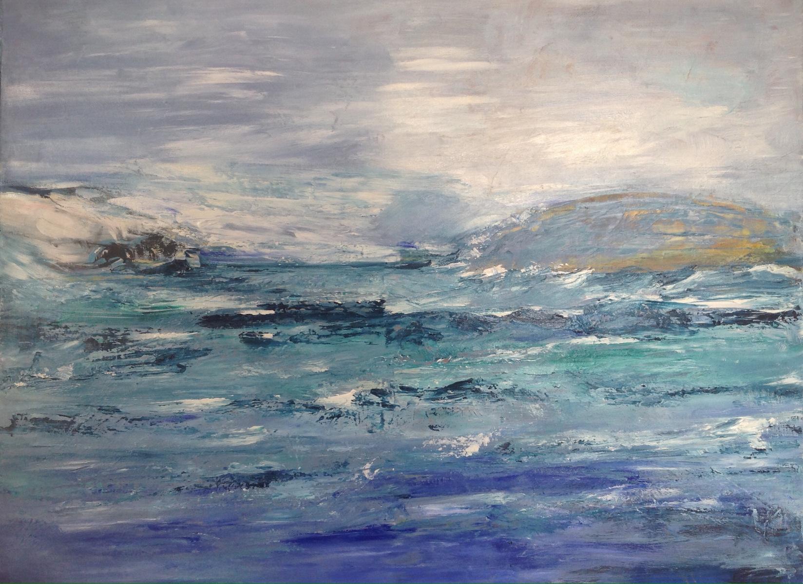 """Stormen Urt "" 80 x 60 cm"