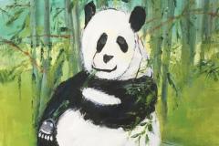 Panda 40 x 30 cm