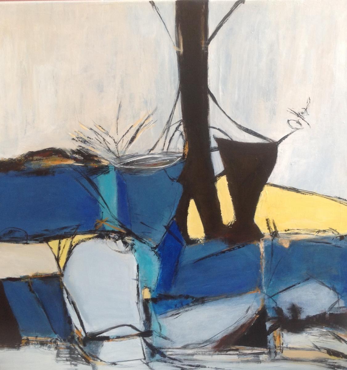 """ Abstrakt"" 80 x 80 cm"