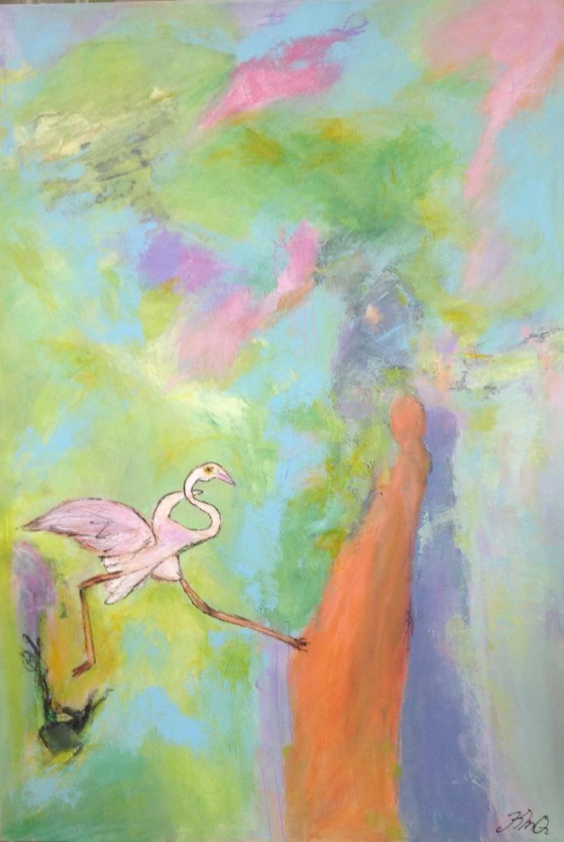 Flamingo er malet over 2020
