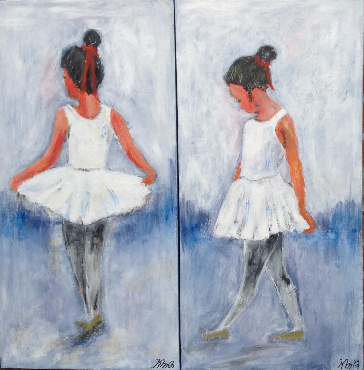 Balletpige 35 x 70 cm