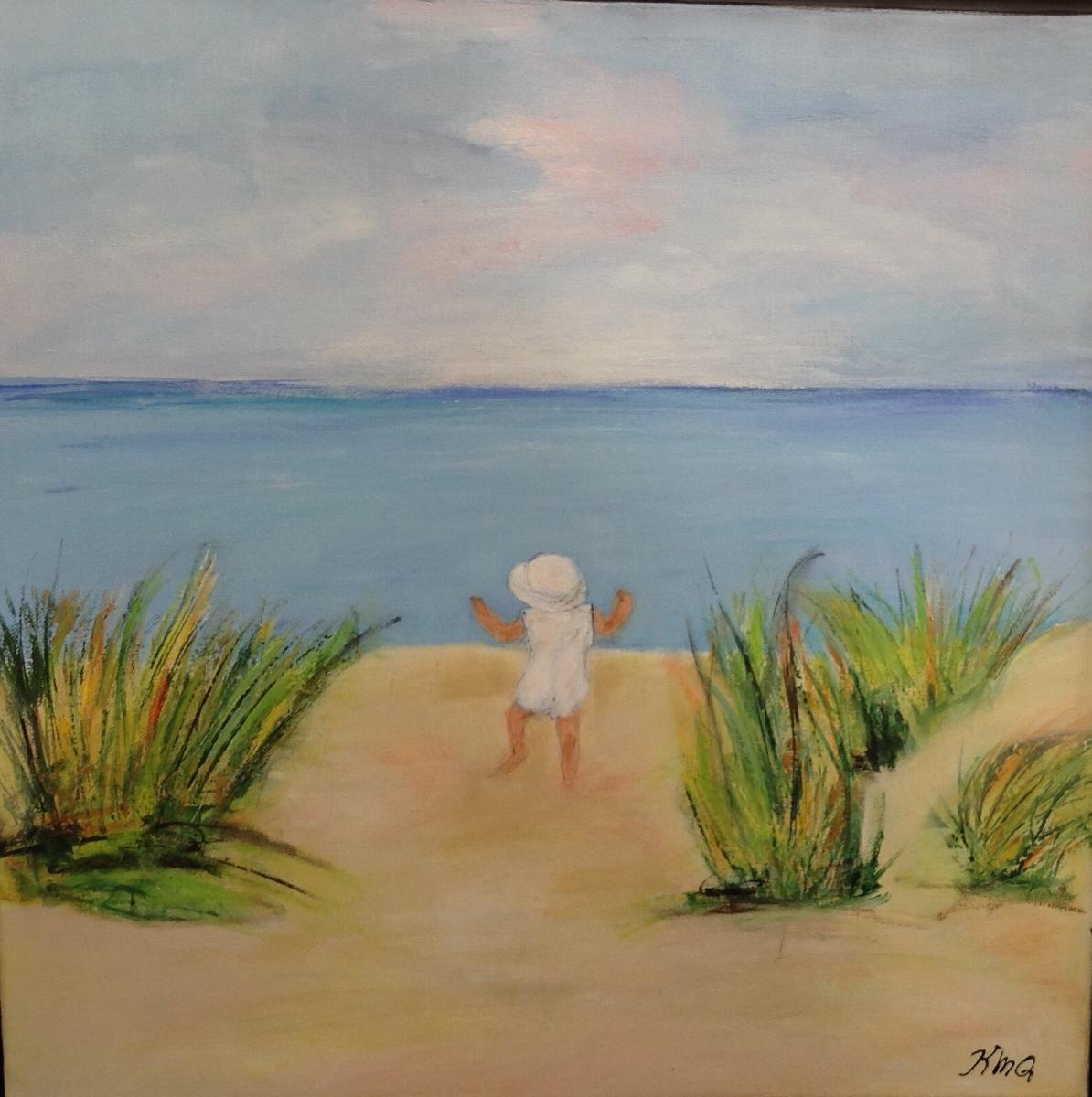 """"""" sommerminder """"  50 x50 cm solgt til BM"""