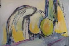 Abstrakt malet på kursus i Vrinners
